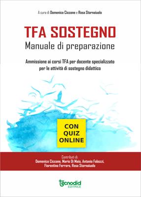 Ammissione ai corsi TFA per docente specializzato per le attività di sostegno didattico