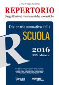 Repertorio 2016 - Dizionario normativo della scuola