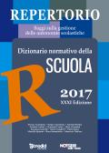Repertorio 2017 - Dizionario normativo della scuola
