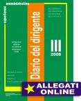 Diario del dirigente scolastico (III quadrimestre 2008)