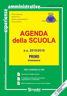 Agenda della scuola - Primo trimestre a.s. 2015/2016