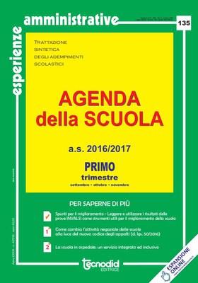 Agenda della scuola - Primo trimestre a.s. 2016/2017
