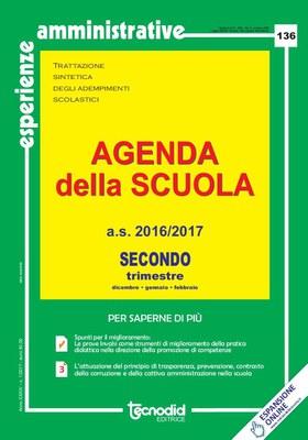 Agenda della scuola - Secondo trimestre a.s. 2016/2017