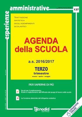 Agenda della scuola - Terzo trimestre a.s. 2016/2017