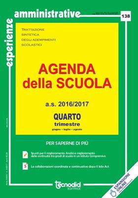 Agenda della scuola - Quarto trimestre a.s. 2016/2017