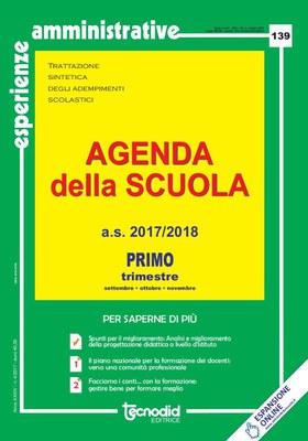 Agenda della scuola - Primo trimestre a.s. 2017/2018
