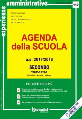 Agenda della scuola - Secondo trimestre a.s. 2017/2018