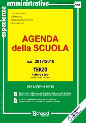 Agenda della scuola - Terzo trimestre a.s. 2017/2018