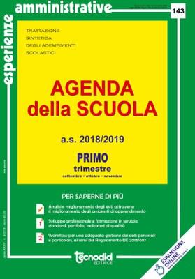 Agenda della scuola - Primo trimestre a.s. 2018/2019