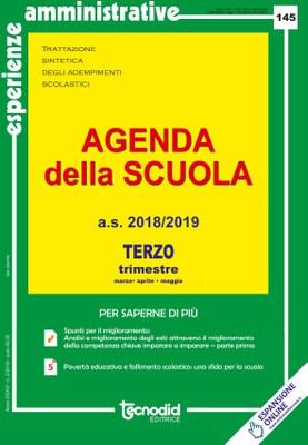 Agenda della scuola - Terzo trimestre a.s. 2018/2019