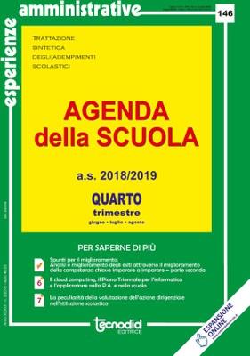 Agenda della scuola - Quarto trimestre a.s. 2018/2019