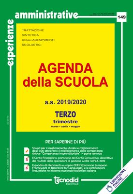 Agenda della scuola - Terzo trimestre a.s. 2019/2020