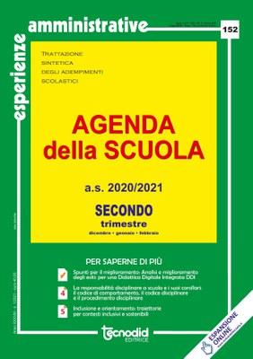 Agenda della scuola - Secondo trimestre a.s. 2020/2021