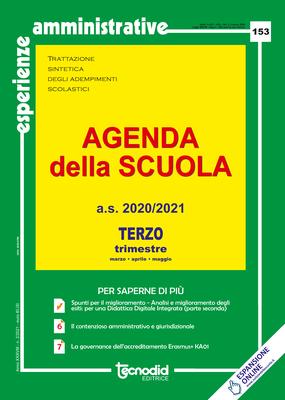 Agenda della scuola - Terzo trimestre a.s. 2020/2021
