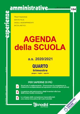 Agenda della scuola - Quarto trimestre a.s. 2020/2021