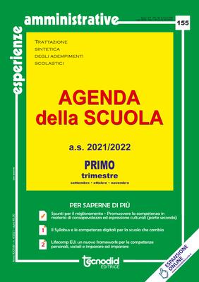 Agenda della scuola - Primo trimestre a.s. 2021/2022