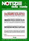 Notizie della scuola n. 1 del 1/15 settembre 2009