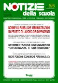 Notizie della scuola n. 5/6 del 1/30 novembre 2009