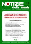Notizie della scuola n. 18 - 1/15 giugno 2011