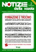 Notizie della scuola n. 2 del 16/30 settembre 2012