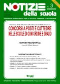 Notizie della scuola n. 3 dell'1/15 ottobre 2012