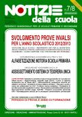 Notizie della scuola n. 7-8 dell'1/31 dicembre 2012