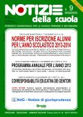 Notizie della scuola n. 9 dell'1/15 gennaio 2013