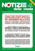 Notizie della scuola n. 24 del 16/31 agosto 2013
