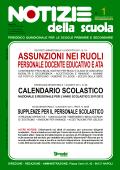 Notizie della scuola n. 1 del 1/15 settembre 2011