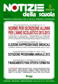 Notizie della scuola n. 8 del 16/31 dicembre 2011