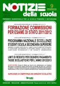 Notizie della scuola n. 9 dell'1/15 gennaio 2012