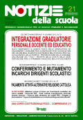 Notizie della scuola n. 21 dell'1/15 luglio 2012