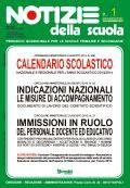 Notizie della scuola n. 1 dell'1/15 settembre 2013