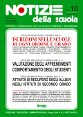 Notizie della scuola n. 10 del 16/31 gennaio 2009