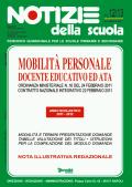 Mobilità personale docente, educativo ed ATA: online il n. 12/13 di Notizie della scuola