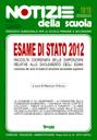 Esame di Stato 2012: online il n. 18/19 di Notizie della scuola