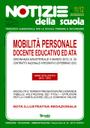Mobilità a.s. 2012/13: on line il n. 11/12 di Notizie della scuola