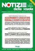 Aggiornamento graduatorie personale docente ed educativo: online il n. 21 di Notizie della scuola