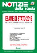 Esame di Stato 2016: istruzioni operative