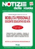 Mobilità personale scolastico 2018/19